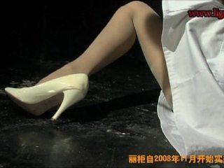 chinese nurse restrain bondage