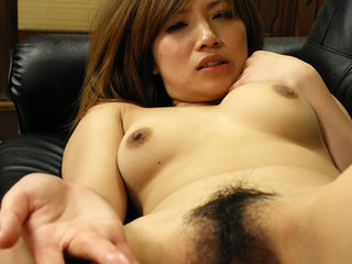 Hot slut Misaki Aiba pays with her snatch